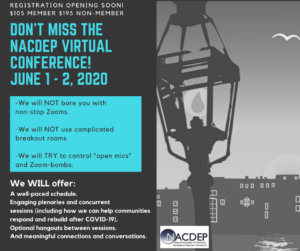 Cover photo for NACDEP 2020 Virtual Conference